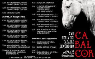 Programación de la Feria del Caballo de Córdoba » CABALCOR 2019 «