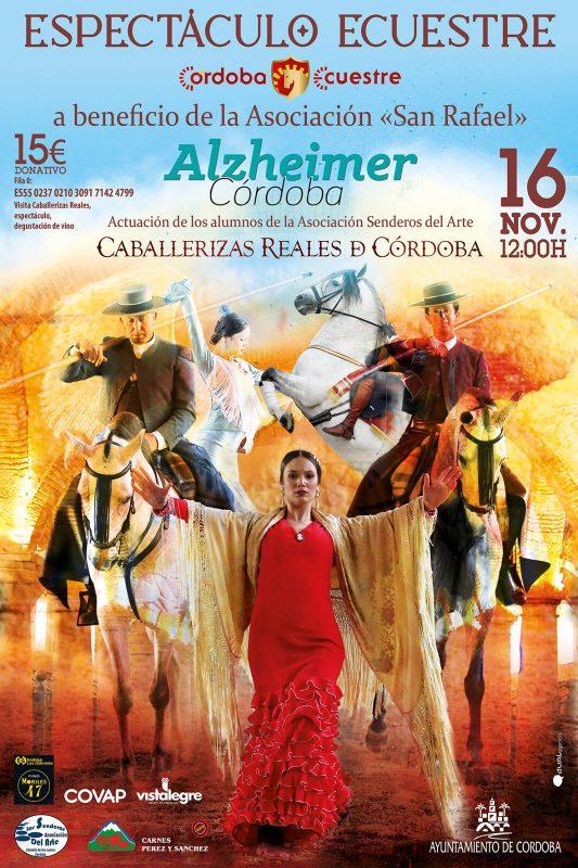 Espectáculo a beneficio de la Asociación Alzheimer de Córdoba San Rafael