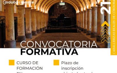 Nueva convocatoria formativa 2021-2023